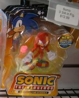 Knuckles the Echidna figure by sonicfan40