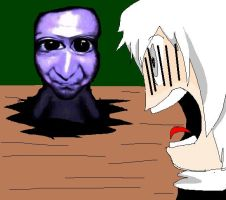 Ao oni reaction by TOBI707