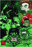 birth of the Hulk redo colour by darkartistdomain