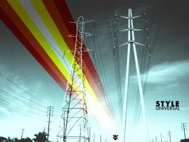 power lines by Styleuniversal