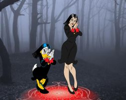 Magica De Spell become REAL by FaGian