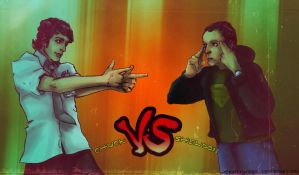 Chuck VS Sheldon by MekareMadness