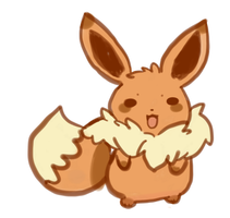 Eevee No by xXMiranXx