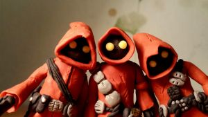 Jawas clay figures by vladorel110