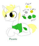 OC revival project:  Picante by Zippercat
