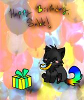 Happy Birthday, Sabley! by Applethecat13