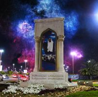Sheikh Zayed monument stars edition by amirajuli