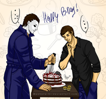 Mikey and Marky BFF_Happy B-day lol by Mashura-Di
