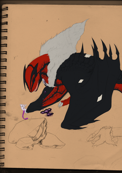 Wounded Vern wip by Kuroleopard