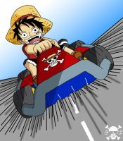 One Piece Kart by Demon-Kiba