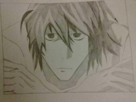 L Death Note by TengenTopper994