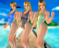 Helena Douglas(Swimsuits MOD) Dead or Alive 5 LR by xXKammyXx