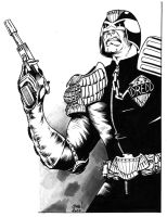 Judge Dredd commission by JulienHB