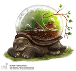 Daily Painting 1675# Tortarium by Cryptid-Creations