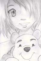 Aaby and Winnie the Pooh by Missethy