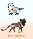 Gryphon adoptables  CLOSED by OhMyAdopts