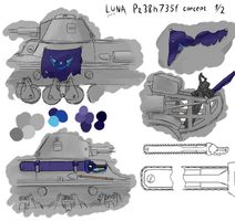 World of Tanks Luna Pz38h735f part 1 by LostMahPants