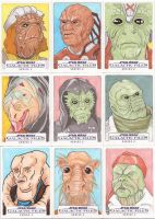 Star Wars Galactic Files Series 2 Sketch Cards 11 by Tyrant-1