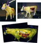 MTV Cow Parade by freeny