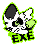 EXE Badge by LoserDoge