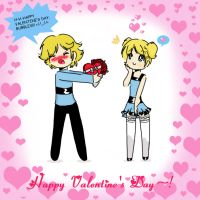 + Happy Valentine's Day + by StarValerian