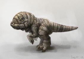 Skywind Baby Guar by FuryOn1989