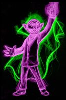 the count neon by AlanSchell