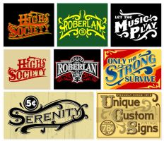 More vintage logos by roberlan