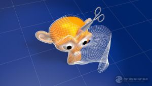Blender 3D: Unwrap Monkey by rpdesignerfly