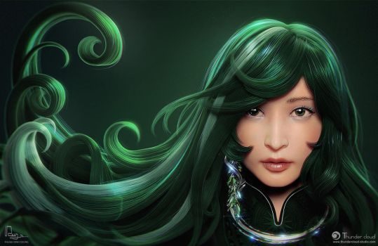 Emerald Flow by phungdinhdung