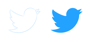 Hand-Drawn Twitter Logos by LabLayers