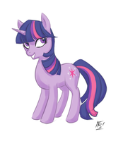 Twilight Sparkle by kathrynlayno