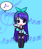My Vocaloid by ninjaeevee