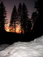 Snow Sunset 2 by Pickles4LES