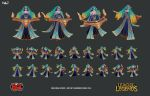 Sona Visual Update: Low Poly and Textures by HazardousArts