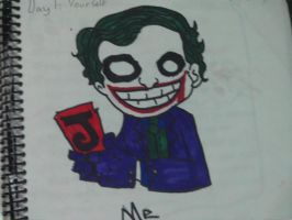 Day 1: Draw yourself by jokercrazy