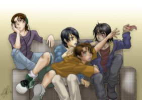 ItoMakis_NeedBiggerCouch_Color by Burnt-Angel-Wings