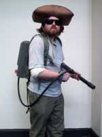 My Casual R.J. MacReady outfit, MegaCon by codebreaker2001