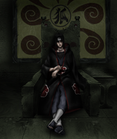Itachi The King Sharingan by Shibuz4
