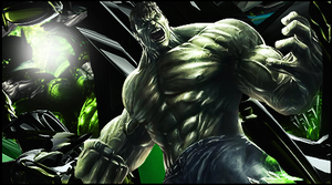 The incredible Hulk by gustavo11s