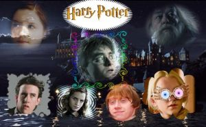 Harry Potter Collage by luigimagic