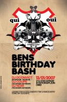 quickmade bday flyers by j-focus