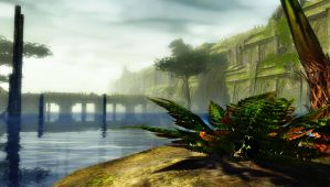 Guild Wars 2 - The Gods` Wall by HappyKnight