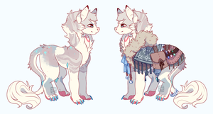 DTA Defflin Entry ~ Silver by LunarAdopts