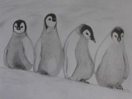 Penguins by HectorZG