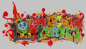 Designers Couch Graffiti by dreeft