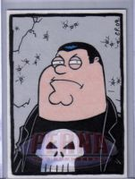 Peter as The Punisher by ElainePerna