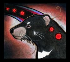 Tasmanian Devil as Totem II by Ravenari