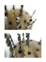 Drill bits by paintedfingers