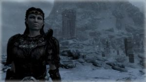 Leaving High Hrothgar by Solace-Grace